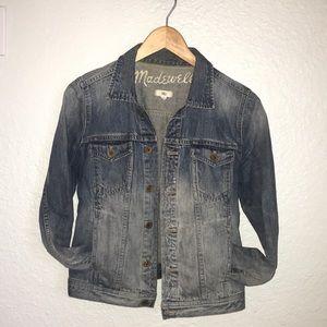 Madewell Denim Jacket in Goldrush